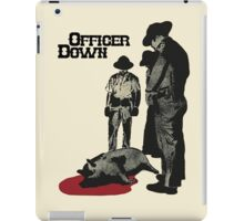 Officer Down iPad Case/Skin