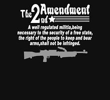 The 2nd amendment Funny Geek Nerd Unisex T-Shirt