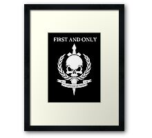 Tanith - First and Only Framed Print