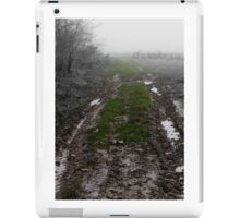 mud tracks iPad Case/Skin