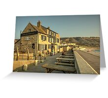 Cove House Inn  Greeting Card