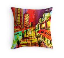 Crown Southbank- Melbourne Australia Throw Pillow