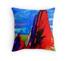 Opal Mountain , Melbourne Australia Throw Pillow