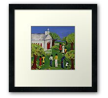 Fellowship Framed Print
