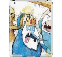 Adventure Time Finn and Jake and IceKing iPad Case/Skin