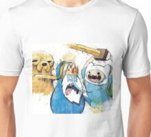 Adventure Time Finn and Jake and IceKing Unisex T-Shirt
