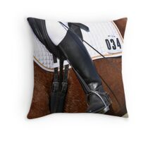 Dressage Detail Throw Pillow