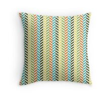 Small lines Throw Pillow