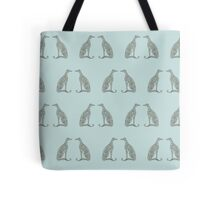 Double Greyhounds - Old Blue Tote Bag