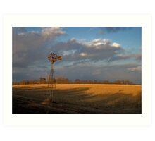 Rust in the Wind Art Print