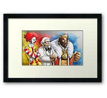 Team Extra Value Combo Framed Print