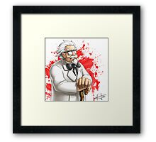 The Colonel Framed Print