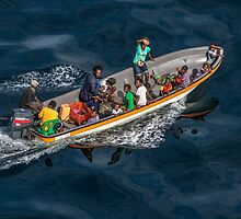 Long Boat Outing by Sandra Anderson
