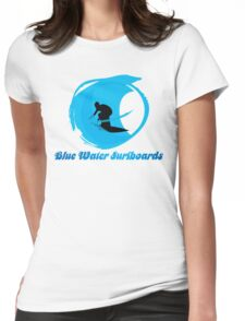 BLUE WATER SURFBOARDS Womens Fitted T-Shirt