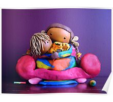 CHUNKIE Mother and Girl Child Poster