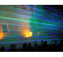 Laser Show Photographic Print