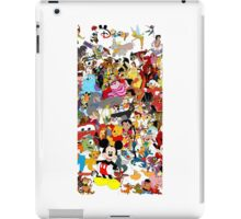 Cartoon Characters iPad Case/Skin