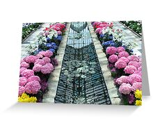 Water Heart at Marjorie McNeely Conservatory  Greeting Card