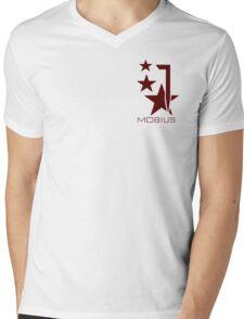 Do you stand with Mobius? Mens V-Neck T-Shirt