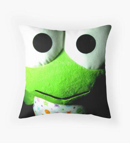 kerokeroppi Throw Pillow