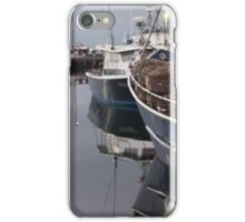 Dawn at Constitution Dock, Hobart, Tasmania iPhone Case/Skin