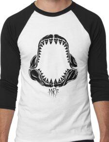 shark tooth Men's Baseball ¾ T-Shirt