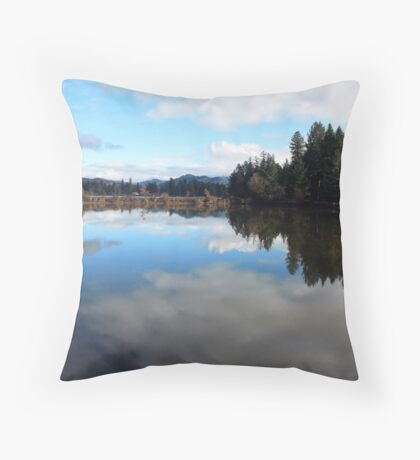 Water Color Throw Pillow
