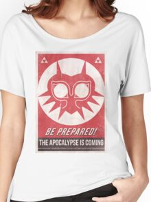 Majora's Mask Apocalypse Poster Women's Relaxed Fit T-Shirt
