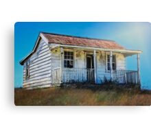 Hauntingly Melancholic Cottage - NZ Canvas Print