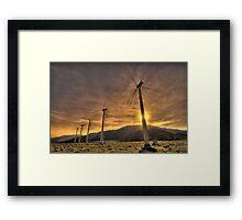 Clean Energy Framed Print