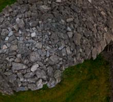 Dun Eochla, Inishmore, Aran Islands Sticker