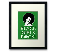 Black Girls Rock TShirts & Hoodies Framed Print