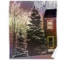 Is it Snowing at your house? Poster