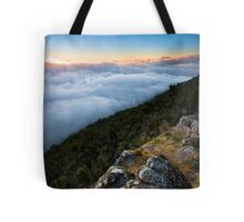 Way Above The Clouds Tote Bag