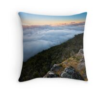 Way Above The Clouds Throw Pillow