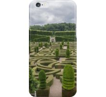 Gardens at Chateau de Villandry, France #5 iPhone Case/Skin