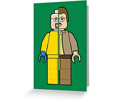 Lego Walter White Greeting Card