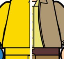 Lego Walter White Sticker
