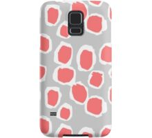 Zola - Abstract painted dots, painterly, bold pattern, surface pattern, print pattern design Samsung Galaxy Case/Skin