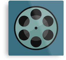 Film Reel Metal Print