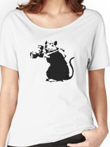 Banksy Rat Women's Relaxed Fit T-Shirt