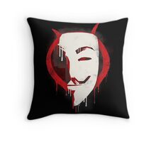 Revenge is my middle name Throw Pillow