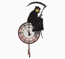 Banksy Grim Reaper Kids Clothes