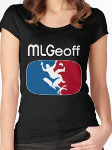 MLGeoff Women's Fitted Scoop T-Shirt