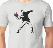 Banksy Flower Thrower Unisex T-Shirt
