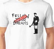 Banksy Follow Your Dreams Unisex T-Shirt