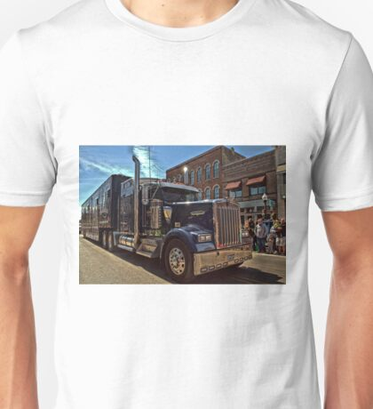 Express Clydesdale Kenworth Semi Truck Unisex T-Shirt