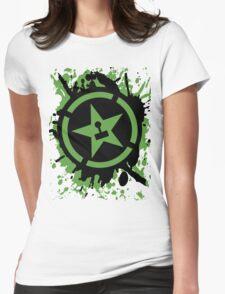 AH Splatter Womens Fitted T-Shirt