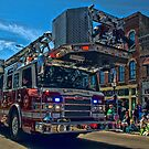 Lawrence Kansas Fire Truck by TeeMack