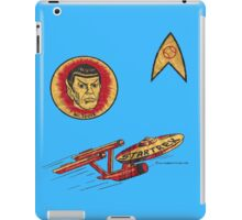 Spock Star Trek Costume from 1975 (yes, really) iPad Case/Skin